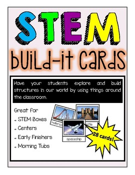 STEM Build-It Cards