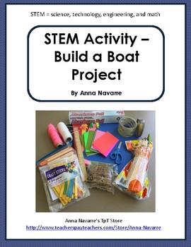STEM Activity - Build a Boat