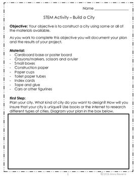 STEM - Build a City