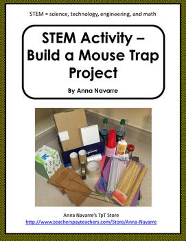 STEM Activity - Build a Mouse Trap