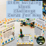 LEGO Challenge Cards for May
