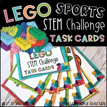STEM Building Challenge Task Cards BUNDLE