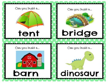 STEM Building Task Cards