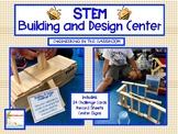 STEM Task Cards Building and Design Center