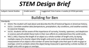 STEM--Building for Ben