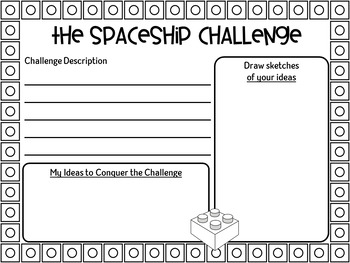 STEM Building for Little Learners ~ Spaceship