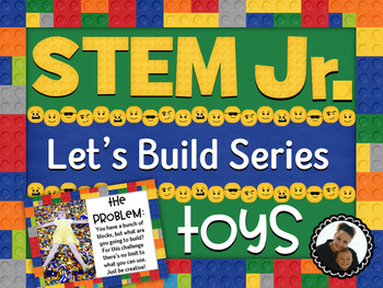 STEM Building for Little Learners ~ Toys