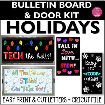 STEM Bulletin Board Holidays