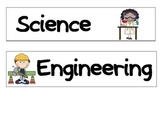 STEM Bulletin Board Titles