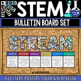 STEM Bulletin Board for STEM / STEAM / STREAM Posters / Cl