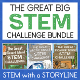 1 Great Big Bundle of STEM Challenges - 15 Themed STEM Activities