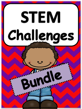 Science, Technology, Engineering and Math: STEM Challenges: Bundle
