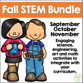 Fall STEM Bundle 30 Seasonal Challenges