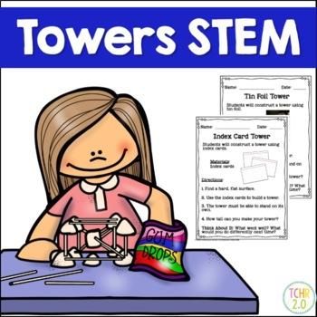 STEM Bundle 12 Tower Building Challenges