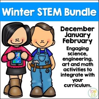 Winter STEM Bundle 36 Seasonal Challenges