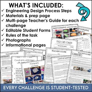 STEM Challenge Bundle for 3rd Grade