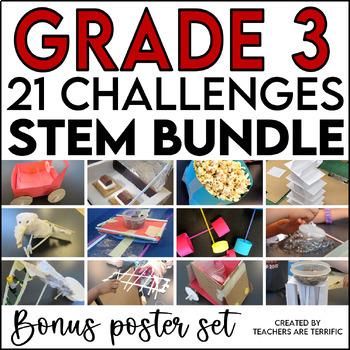 Stem Challenge Bundle For 3rd Grade By Teachers Are Terrific Tpt