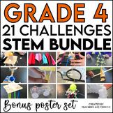 STEM Challenge Bundle for 4th Grade