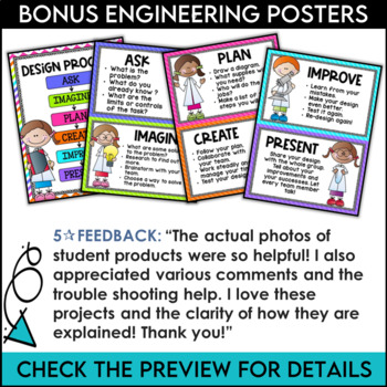 STEM Challenge Bundle for 4th Grade