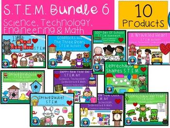 STEM Bundled Set 6 Science, Technology, Engineering & Math