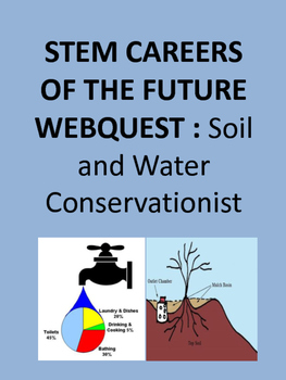 STEM CAREERS OF THE FUTURE WEBQUEST : Soil and Water Conservationist