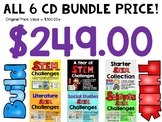 STEM CD Bundle - A Collection of 6 CDs - Amazing Amount of STEM Challenges!