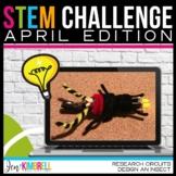 STEM CHALLENGE CIRCUIT BUGS APRIL EDITION