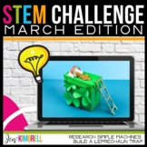 STEM CHALLENGE LEPRECHAUN TRAP AND SIMPLE MACHINES MARCH EDITION