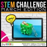 STEM CHALLENGE LEPRECHAUN TRAP AND SIMPLE MACHINES MARCH EDITION