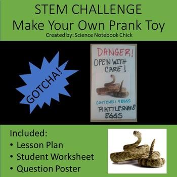 STEM CHALLENGE Make Your Own Prank Toy