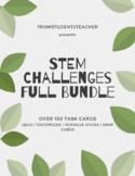 Distance Learning - STEM CHALLENGE: MEGA-SET 150+ Task Cards