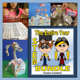 STEM CHALLENGES for the WHOLE SCHOOL YEAR BUNDLE - 3 FREE MONTHS!