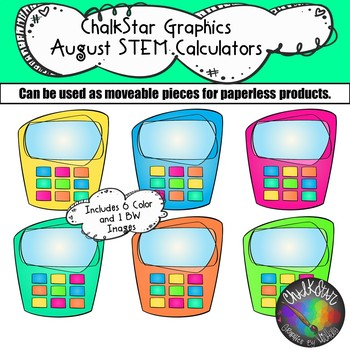 Calculator Clip Art Teaching Resources | Teachers Pay Teachers