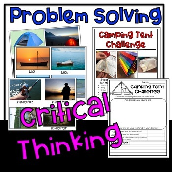 STEM Camping Challenges Summer Activities