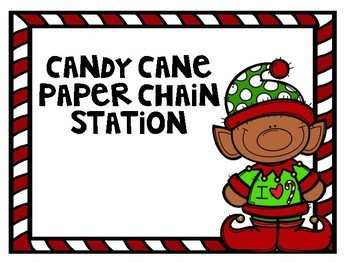 STEM Candy Cane Stations