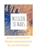 Astronaut: prepare for a mission to mars! (lesson plan and PBL assessment)
