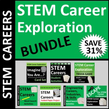STEM Career Exploration BUNDLE