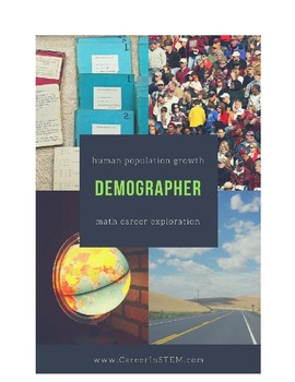 Demographer Lesson Plan (human population growth + math career exploration)