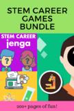 STEM Career Exploration Games Bundle - 4 games, great back to school activity!