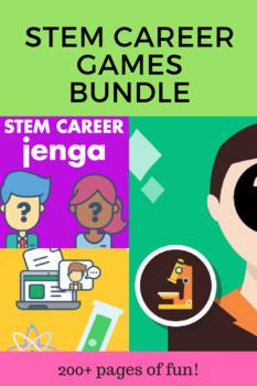 STEM Career Exploration Games Bundle - 6 games, one low price!