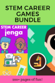 STEM Career Exploration Games Bundle (distance learning &