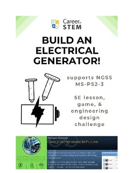 STEM Career Exploration: Power Plant Operator (Teacher Sheet)