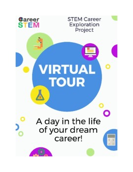 STEM Career Exploration Virtual Tour Project - great end of the year activity!
