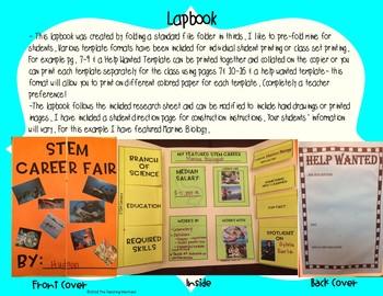 "STEM ""Career Fair"" Project Based Learning"