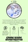 STEM Career Poster: Crime Scene Investigator (distance learning)