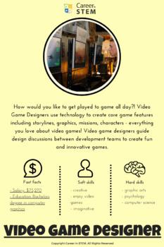 STEM Career Information Sheet: Video Game Designer