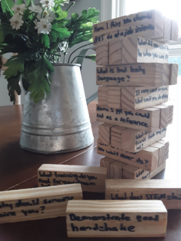 STEM Career Jenga - great back to school activity!