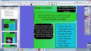 STEM Career Lesson Aligned to 5th Grade Science