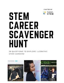 STEM Career Scavenger Hunt
