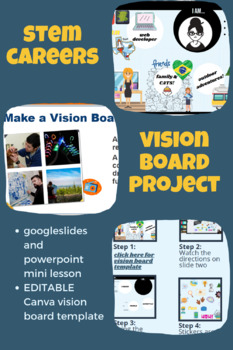 STEM Career Vision Board Project